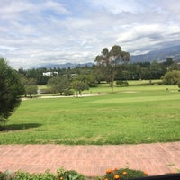 Photo taken at Arrayanes Country Club by David G. on 4/3/2014