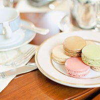 Photo taken at Ladurée by Anna B. on 1/20/2013