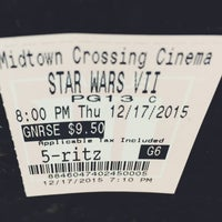 Photo taken at Marcus Midtown Cinema by Christopher N. on 12/18/2015