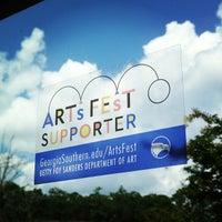 Photo taken at ArtsFest - Georgia Southern University by Betty Foy Sanders D. on 8/1/2013