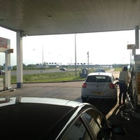 Photo taken at Shell Station Hellevliet by Onno W. on 5/28/2013