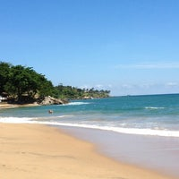 Photo taken at Praia do Curral by Dre A. on 3/6/2013