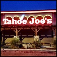 Photo taken at Tahoe Joe's Famous Steakhouse by Ed S. on 2/7/2013