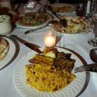 Photo taken at Ravagh Persian Grill by Fatima J. on 8/18/2013
