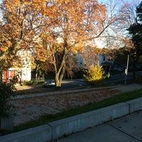 Photo taken at Ronan Park by Eliane O. on 10/25/2012