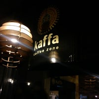 Photo taken at Kaffa Coffee Zone by Carla O. on 11/3/2012