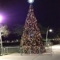 Photo taken at Young Circle-ArtsPark by Anthony B. on 12/7/2012