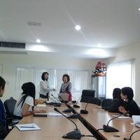 Photo taken at Graduate School by Kreeta Y. on 10/30/2012