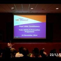Photo taken at SBS Transit: Sengkang Depot (SKD) by 陳杰倫 (. on 11/22/2014