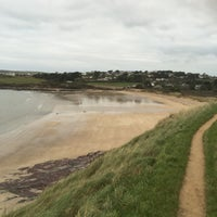 Photo taken at Daymer Bay by Peter F. on 12/13/2015