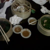 Photo taken at Bamboo Dimsum & Mie Tarik by Yelsi Y. on 12/1/2012