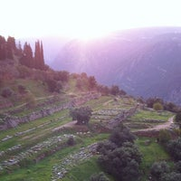 Photo taken at Archaeological Site of Delphi by John Z. on 12/17/2012
