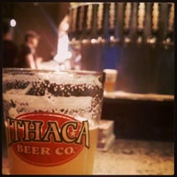 Photo taken at Ithaca Beer Co. Taproom by Nathan R. on 3/27/2013