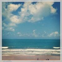 Photo taken at Praia de Pium by Marcílio A. on 12/30/2012