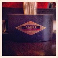 """Das Foto wurde bei Бар-ресторан """"АБВГДейка"""" von Dmitry S. am 4/27/2013 aufgenommen"""