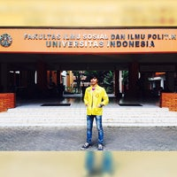 Photo taken at Fakultas Ilmu Sosial dan Ilmu Politik by Aldi R. on 11/13/2014