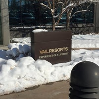 Photo taken at Vail Resorts HQ by Jen A. on 2/23/2015