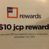 Photo taken at JCPenney by Marcus on 11/22/2012
