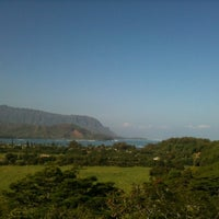 Photo taken at Hanalei Valley Lookout by Nobuama S. on 11/4/2012