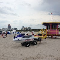 Photo taken at 9th Street Beach by Lionel T. on 5/1/2013