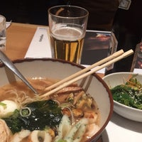 Photo taken at Wagamama by Todd L. on 10/28/2014