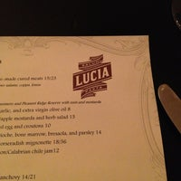 Photo taken at Lucia by J S. on 2/9/2013