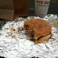 Photo taken at Five Guys by Patrick P. on 4/3/2012