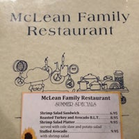 Photo taken at McLean Family Restaurant by Dusky on 10/20/2012