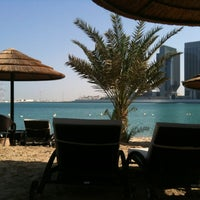 Photo taken at Le Méridien Abu Dhabi by ega r. on 1/7/2013