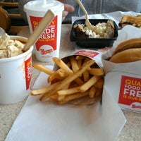 Photo taken at Wendy's by Diana A. on 10/20/2012