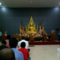 Photo taken at Indonesia Theravada Buddhist Centre (ITBC) by Wesley Z. on 7/12/2014