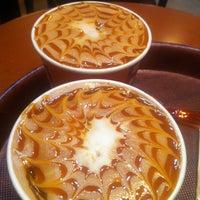 Photo taken at KREDENS CAFE by Romka K. on 1/10/2013
