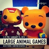 Photo taken at Large Animal Games by Vivian L. on 1/15/2013