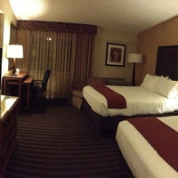 Photo taken at Holiday Inn Express Springfield by Thomas W. on 10/14/2013