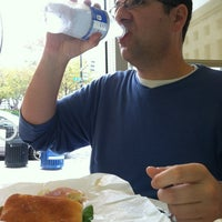 Photo taken at Au Bon Pain by Spence T. on 10/26/2012