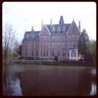 Photo taken at Kasteel van Loppem by Jan V. on 4/10/2016