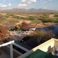 Photo taken at JW Marriott Phoenix Desert Ridge Resort & Spa by Matthew P. on 2/6/2013