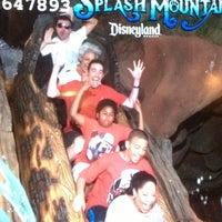 Photo taken at Splash Mountain by David N. on 4/4/2013