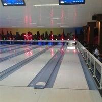 Photo taken at Strike Boliche Bar by Daniel S. on 10/12/2013