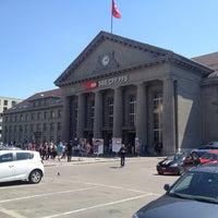 Photo taken at Bahnhof Biel / Gare de Bienne by Marcio M. on 6/6/2013
