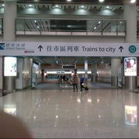 Photo taken at MTR Airport Station 機場站 by Edwin F. on 1/17/2013