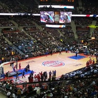 Photo taken at The Palace of Auburn Hills by Oscar G. on 12/8/2012