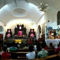 Photo taken at Santuario de San Pedro Bautista Parish by Guen M. on 1/1/2016