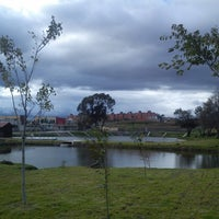 Photo taken at Parque Recreativo El Ameyal by Rodolfo T. on 11/12/2013