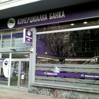Photo taken at Komercijalna banka by Dragan N. on 10/23/2012