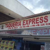 Photo taken at Taqueria Express by Amber C. on 7/2/2013
