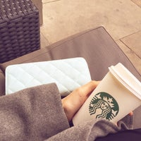 Photo taken at Starbucks by Cansu K. on 10/17/2015