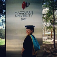 Photo taken at Macquarie University by Jessalyn P. on 12/6/2012