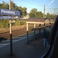 Photo taken at Bahnhof Pinneberg by Noel T. on 9/30/2013