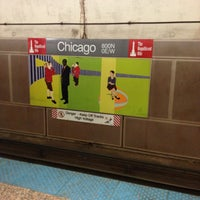 Photo taken at CTA - Chicago (Red) by Craig R. on 1/16/2013